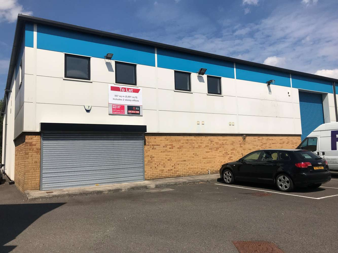 Industrial and logistics Cardiff, CF3 2PX - Unit M1, The Levels Business Park - 2