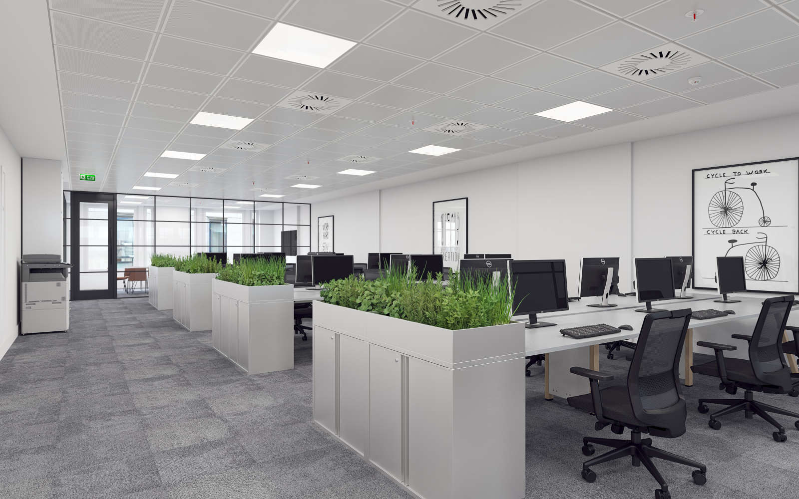 Office London, EC2R 7DA - 4 Copthall Avenue - 001