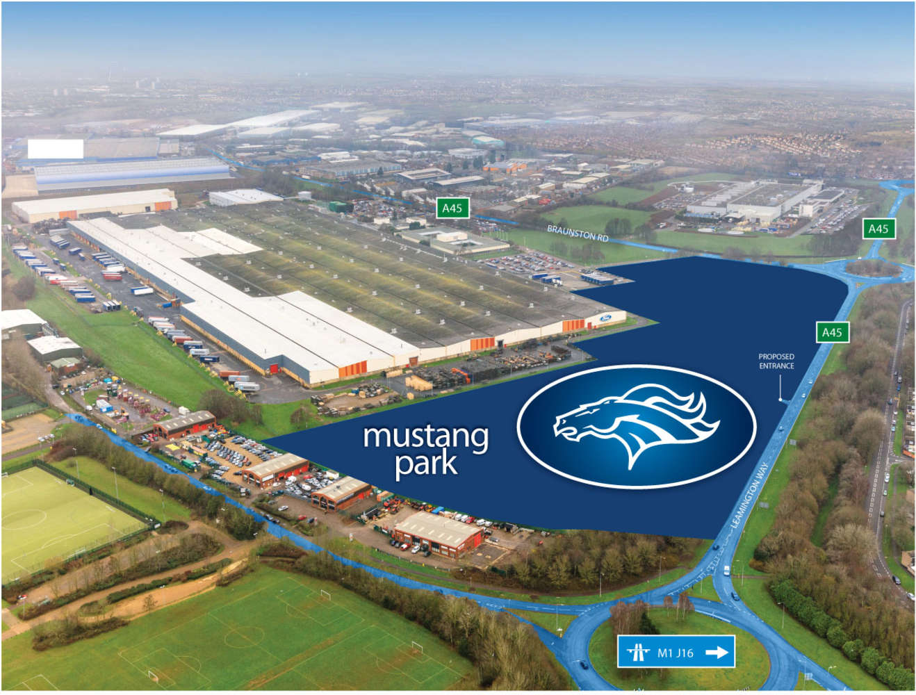 Industrial and logistics Daventry, NN11 8NU - Mustang Park - 20036