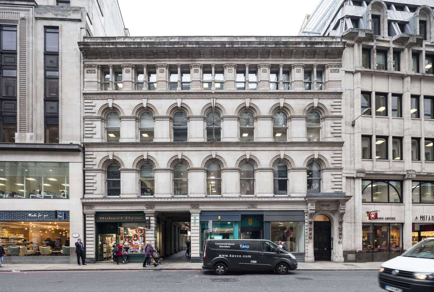 Office London, EC3V 0AU - 81 Gracechurch Street - 1923