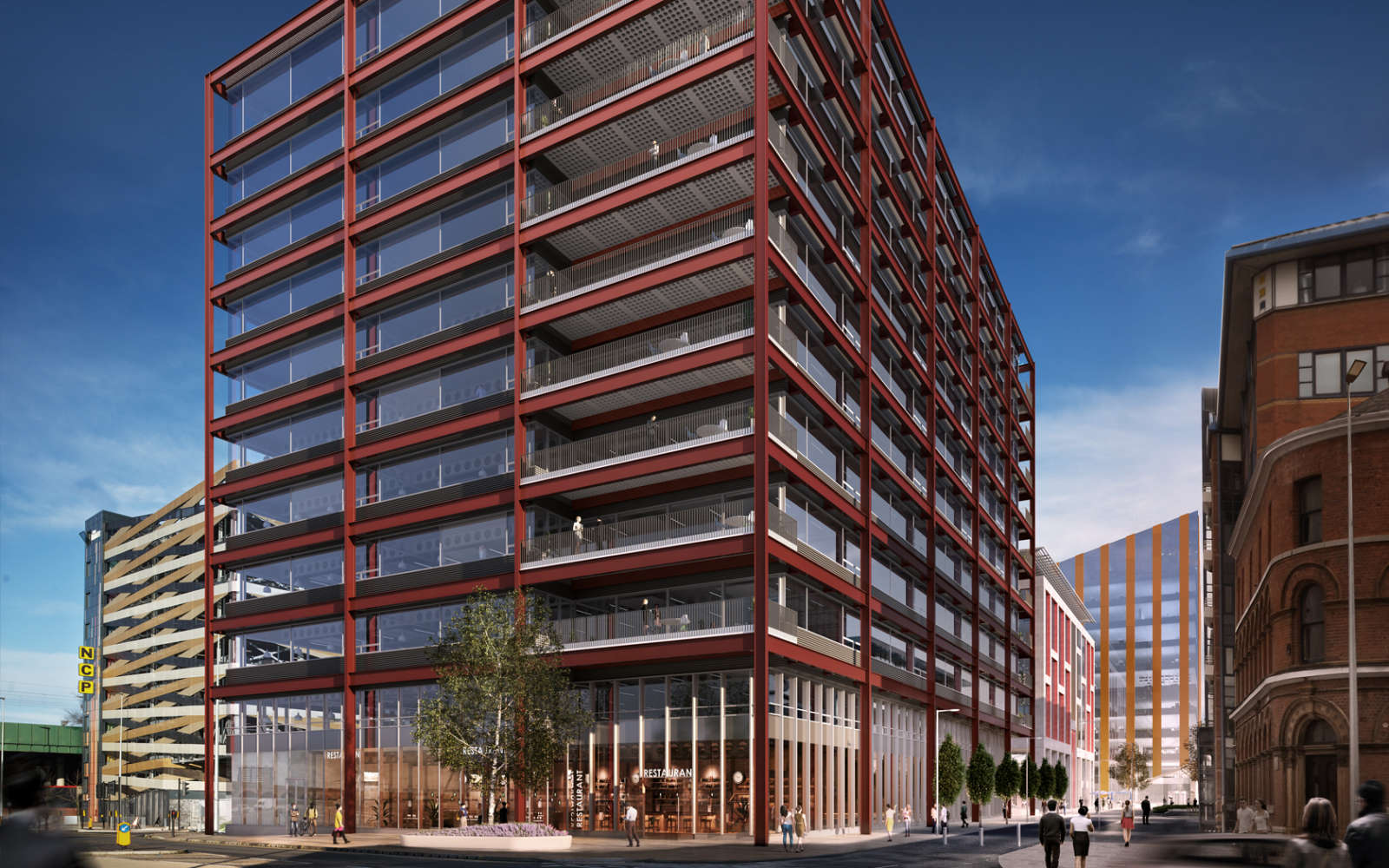 Offices Manchester, M3 5ER - Two New Bailey Square  - 24055