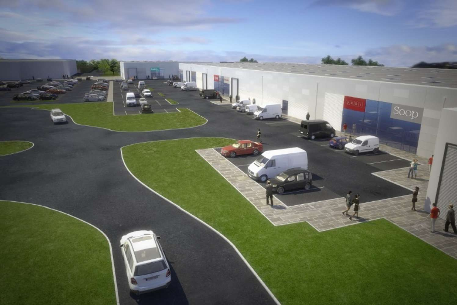 Industrial and logistics Loanhead, EH20 9QH - Pentland Trade Park - 1