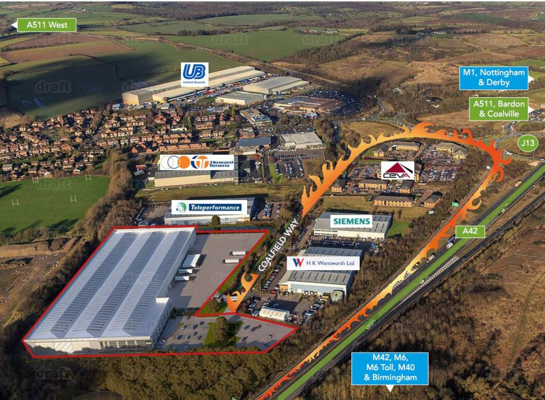 Industrial and logistics Ashby-de-la-zouch, LE65 1JR - Zorro - 40458