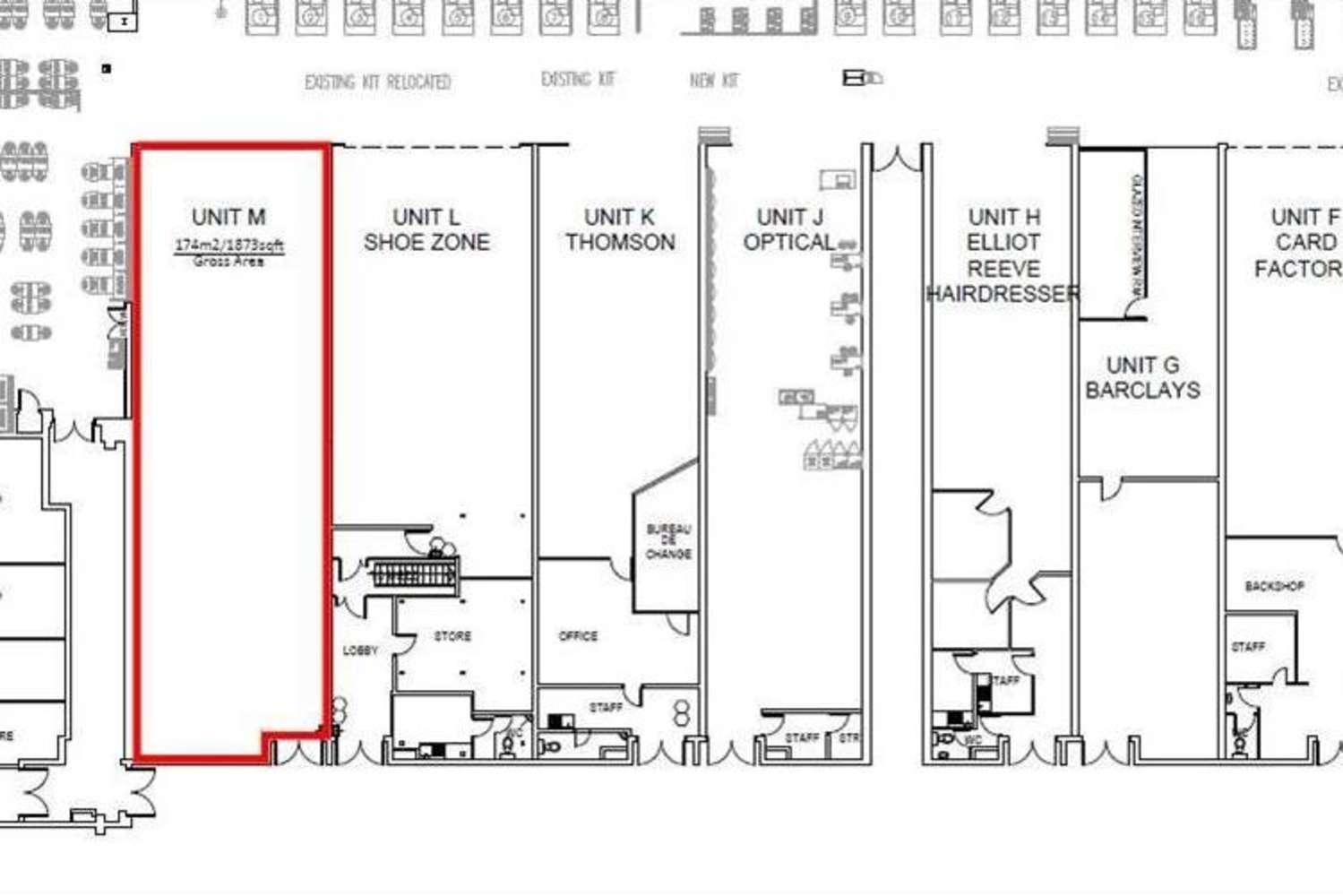 Retail shopping centre Watford, WD24 7RT - Unit M, ASDA Watford Superstore - 41654