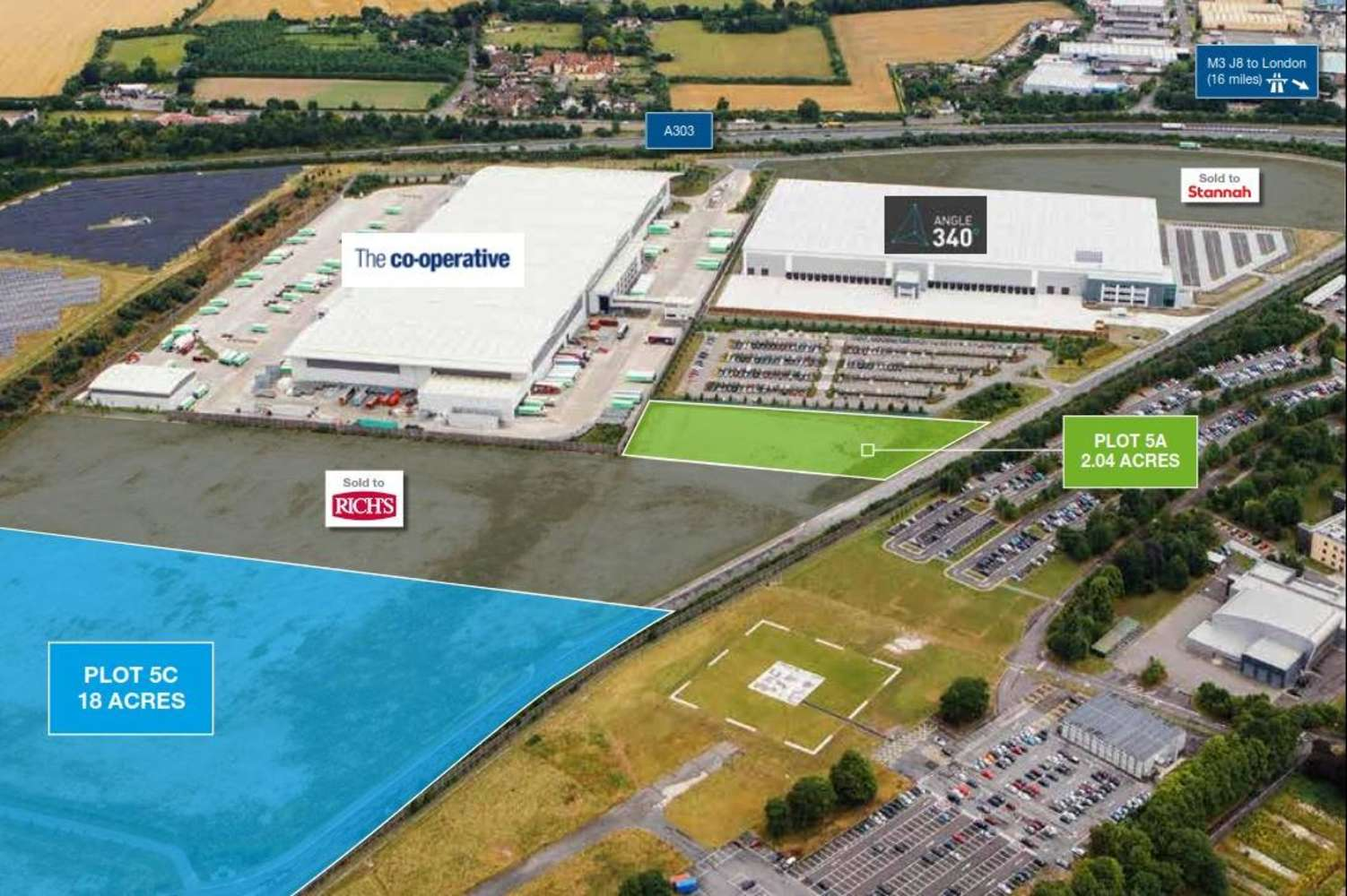 Land Andover, SP11 8BF - Plot 5c, Andover Business Park  - 5