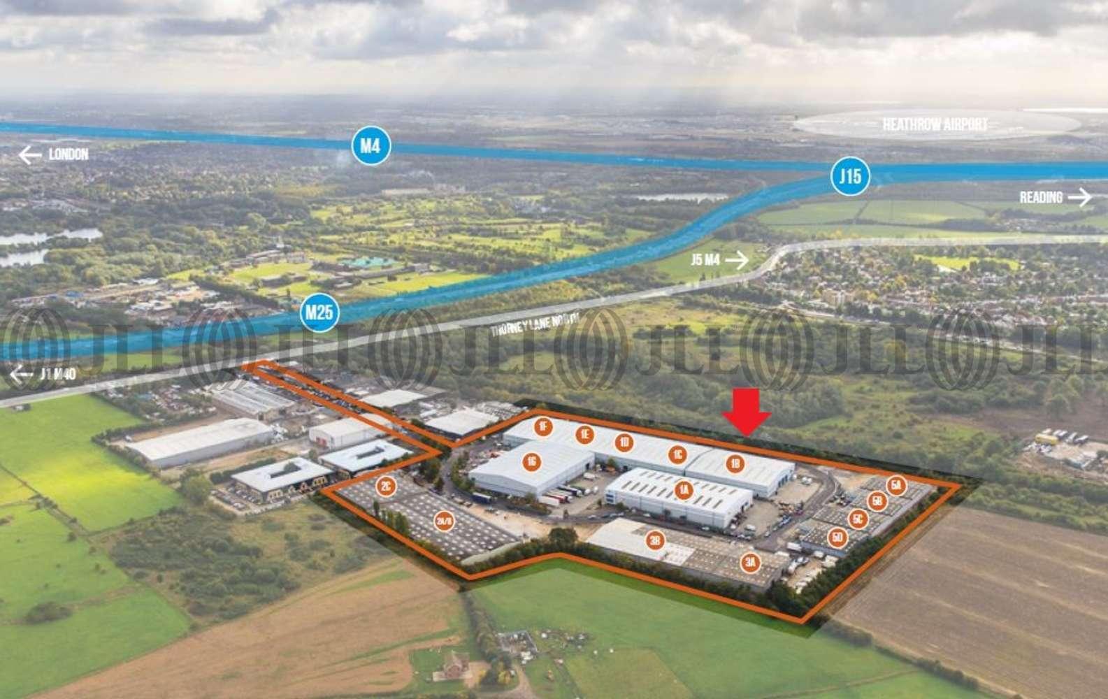 Industrial and logistics Iver, SL0 9JQ - Unit 1B Ridgeway Distribution Centre - 1