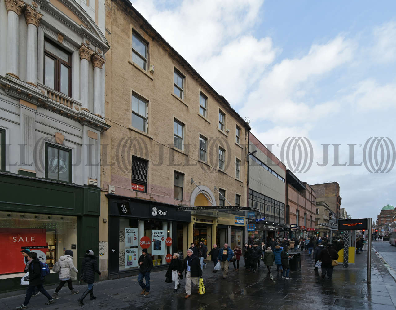 Retail high street Glasgow, G2 8BH - 102 Argyle Street - 0213