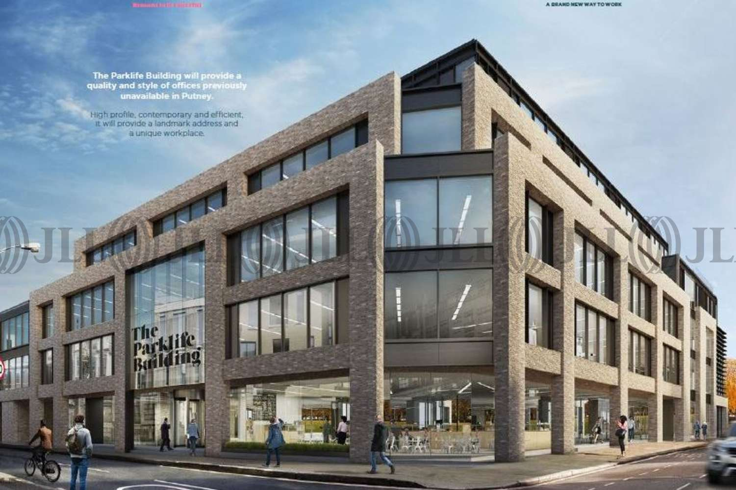 Offices Putney, SW15 2NQ - The Parklife Building - 1