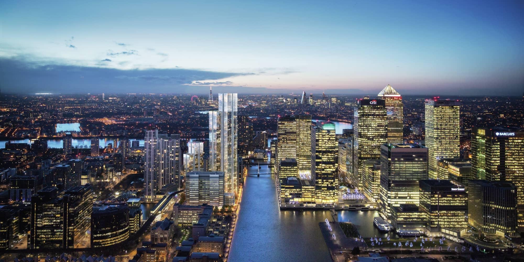 Development London, E14 - South Quay Plaza - 20
