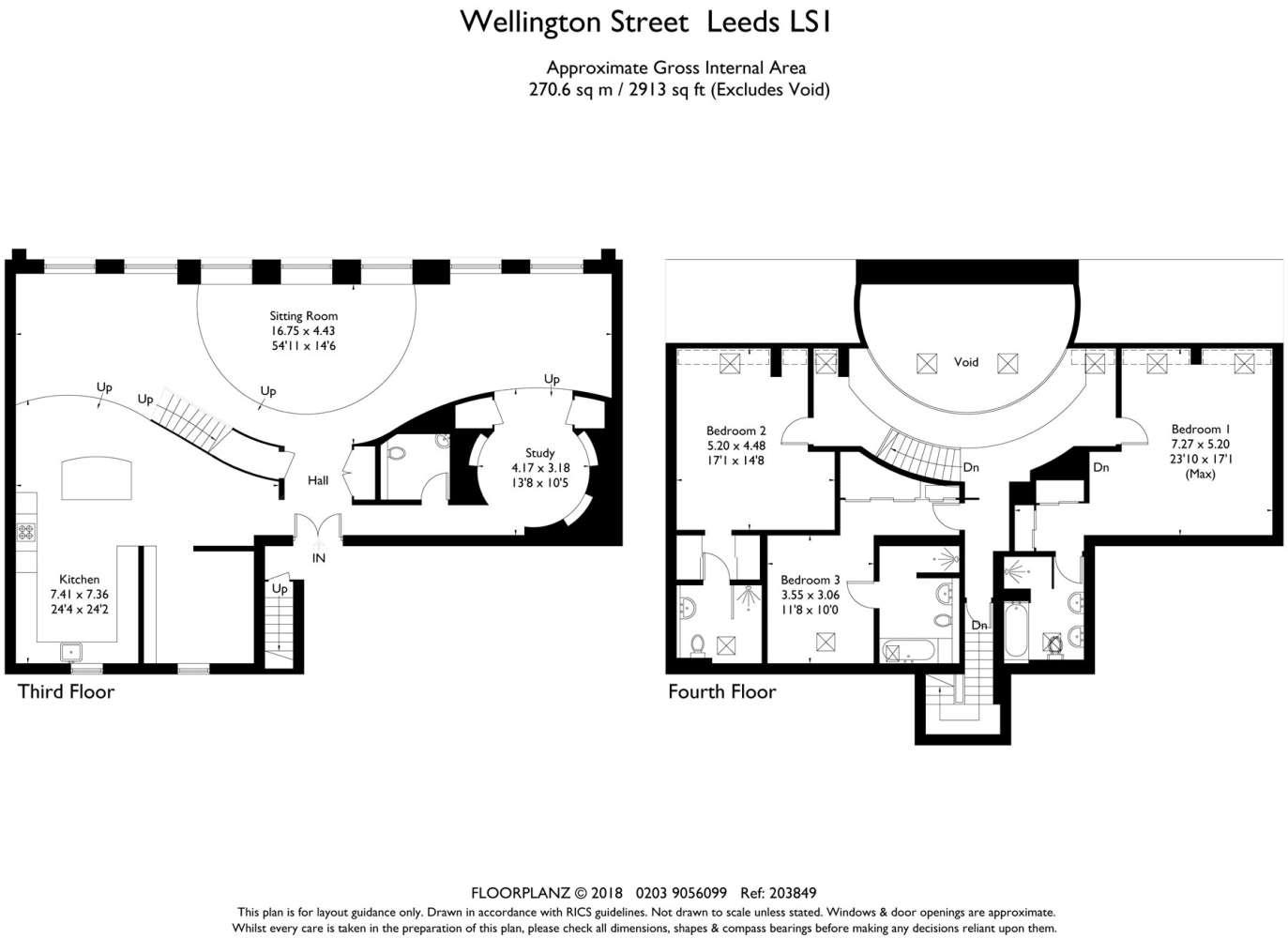 Apartment Leeds, LS1 - 19 Wellington Street Leeds LS1 - 21