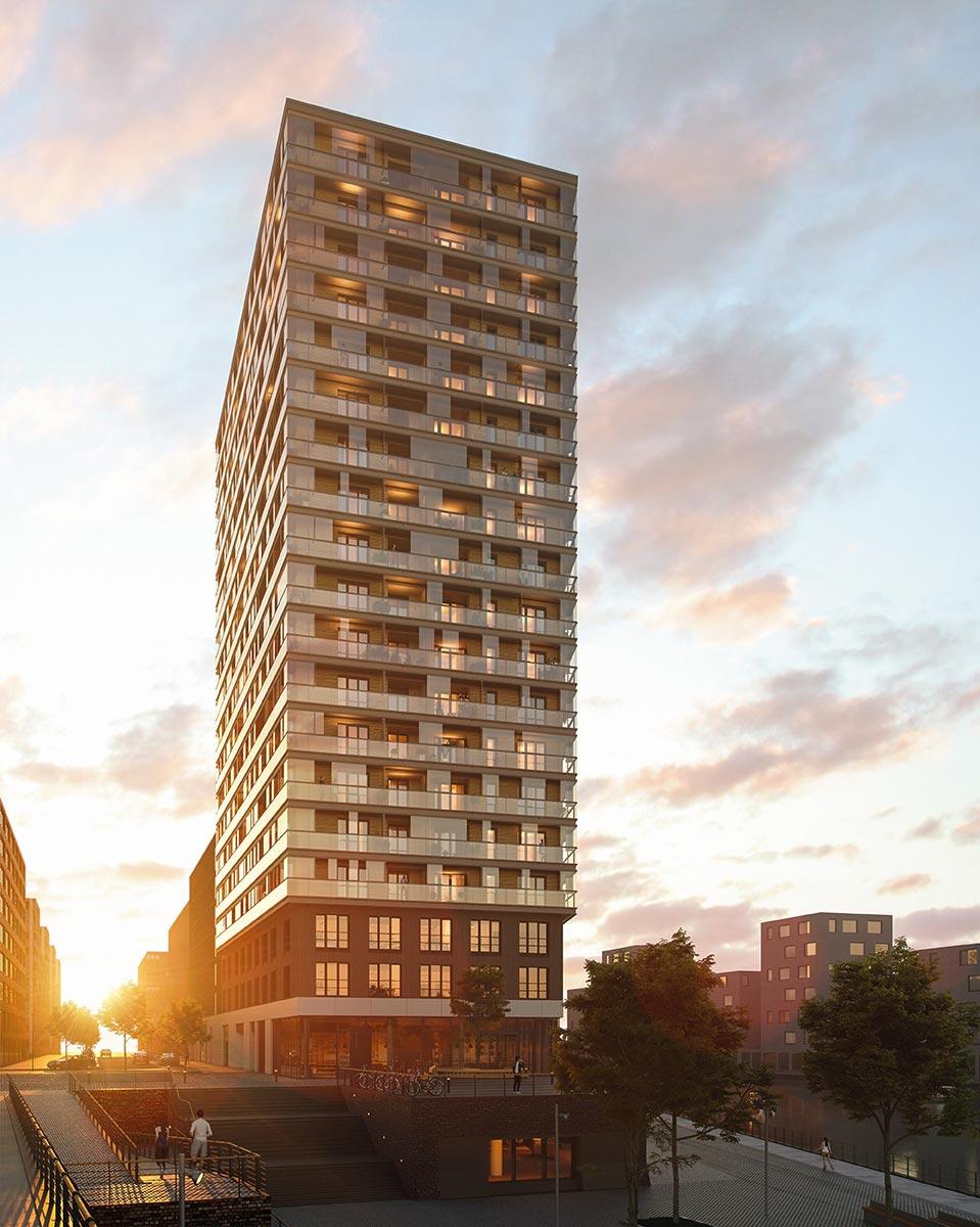 Leben im höchsten Holzhochhaus Deutschlands