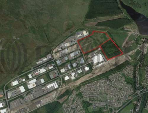 Industrial and logistics Ebbw vale, NP23 5SD - Development Land at Rassau Industrial Estate - 48621