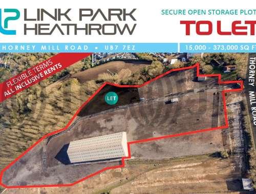 Land Heathrow, UB7 7EZ - Link Park, Thorney Mill Road - 64456