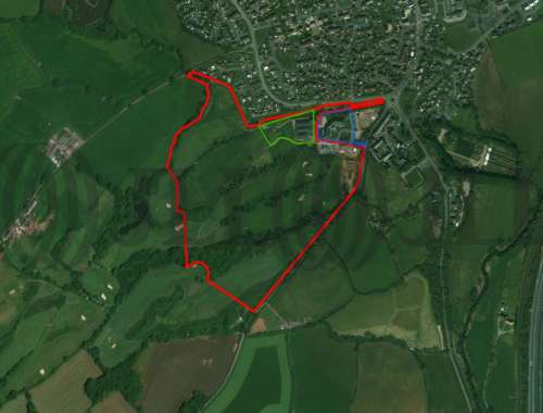 Land Cullompton, EX15 1RU - Land at Padbrook Hill - 72655