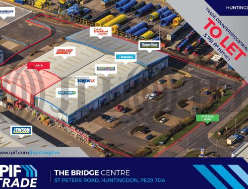 Industrial Huntingdon, PE29 7DA - Unit 8, The Bridge Centre, St Peters Road - 77476