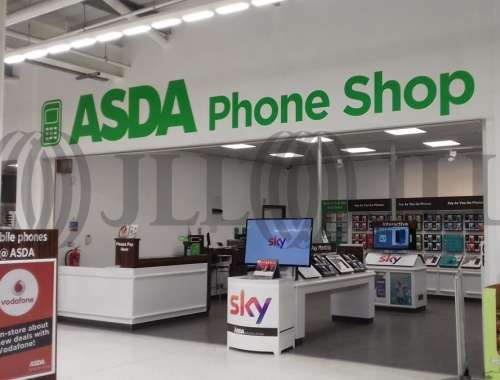 Retail shopping centre Walsall, WS1 1RS - Asda St. Matthews Superstore - 78643