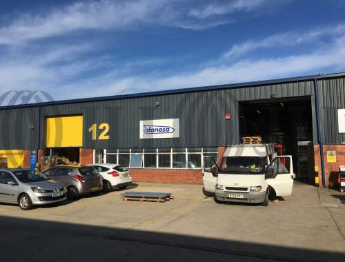 Industrial Portsmouth, PO3 5RQ - Unit 12 Admiral Park Industrial Estate - 0252