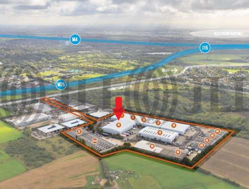Industrial and logistics Iver, SL0 9JQ - Unit 1G Ridgeway Distribution Centre - 1