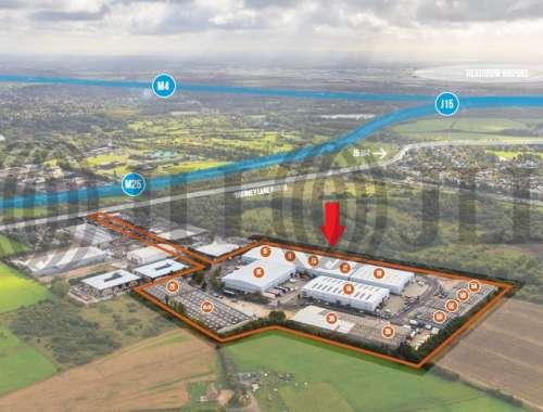 Industrial Iver, SL0 9JQ - Units 1C & 1D Ridgeway Distribution Centre - 1