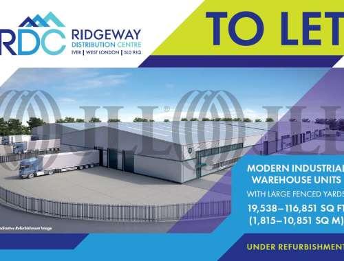 Industrial Iver, SL0 9JQ - Units 1B, 1C, 1D & 1G Ridgeway Distribution Centre - 91988