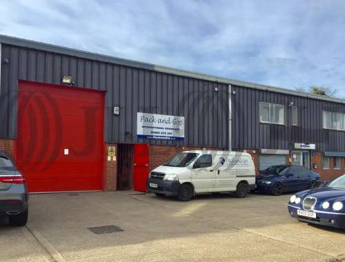 Industrial and logistics Uxbridge, UB8 2JP - Unit B Enterprise House - To Let - 9846