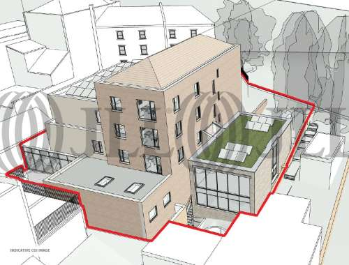 Land Bristol, BS1 5JY - Land to the rear of 62 and 68 Park Street - 1