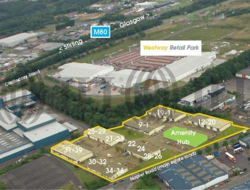 Industrial and logistics Cumbernauld, G68 0LG - Napier Court - 1