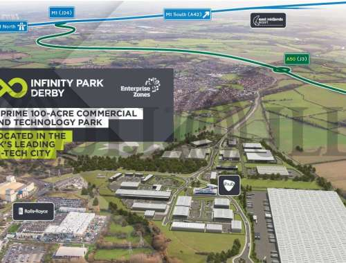 Industrial and logistics Derby, DE24 9BD - Plot A. Infinity Park Derby - 9888
