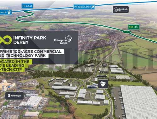 Industrial and logistics Derby, DE24 9BD - Plot D. Infinity Park Derby - 9898