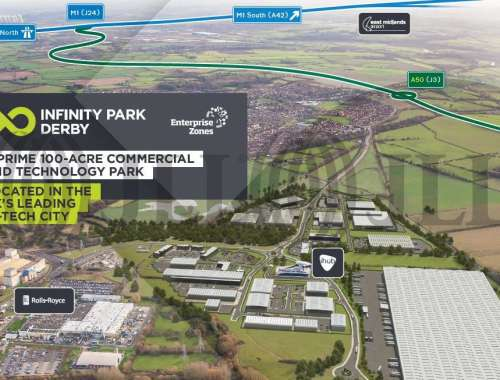 Industrial and logistics Derby, DE24 9BD - Plot E. Infinity Park Derby - 9892
