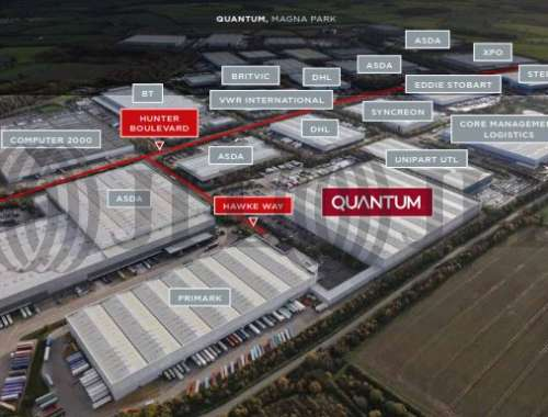 Industrial and logistics Lutterworth, LE17 4XN - Quantum Distribution Centre - 1
