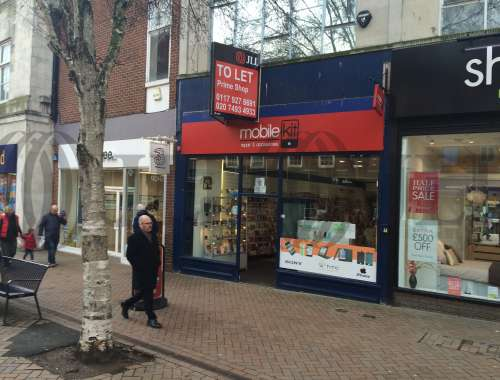 Retail high street Gloucester, GL1 1PD - Unit 1, St Michael's Building - 0802
