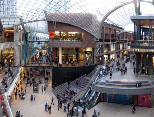 Retail shopping centre Bristol, BS1 3BX - Cabot Circus - 20249