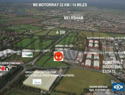 Industrial Melksham, SN12 6SS - Former Hangars 1-8 - 34223