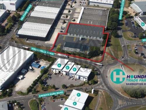 Industrial and logistics Basingstoke, RG21 6YT - Houndmills Trade Park, Houndmills Road - 3435