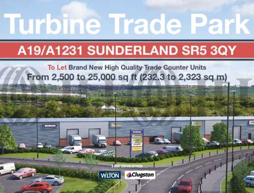 Industrial and logistics Sunderland, SR5 3QY - Turbine Business Park - 001