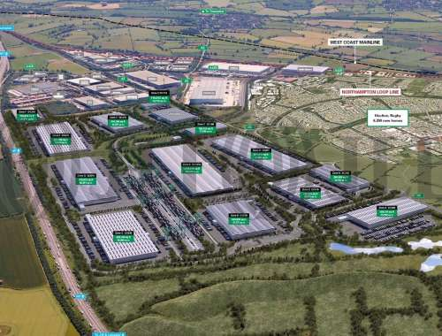 Industrial and logistics Daventry, NN6 7FT - Prologis RFI DIRFT - 1
