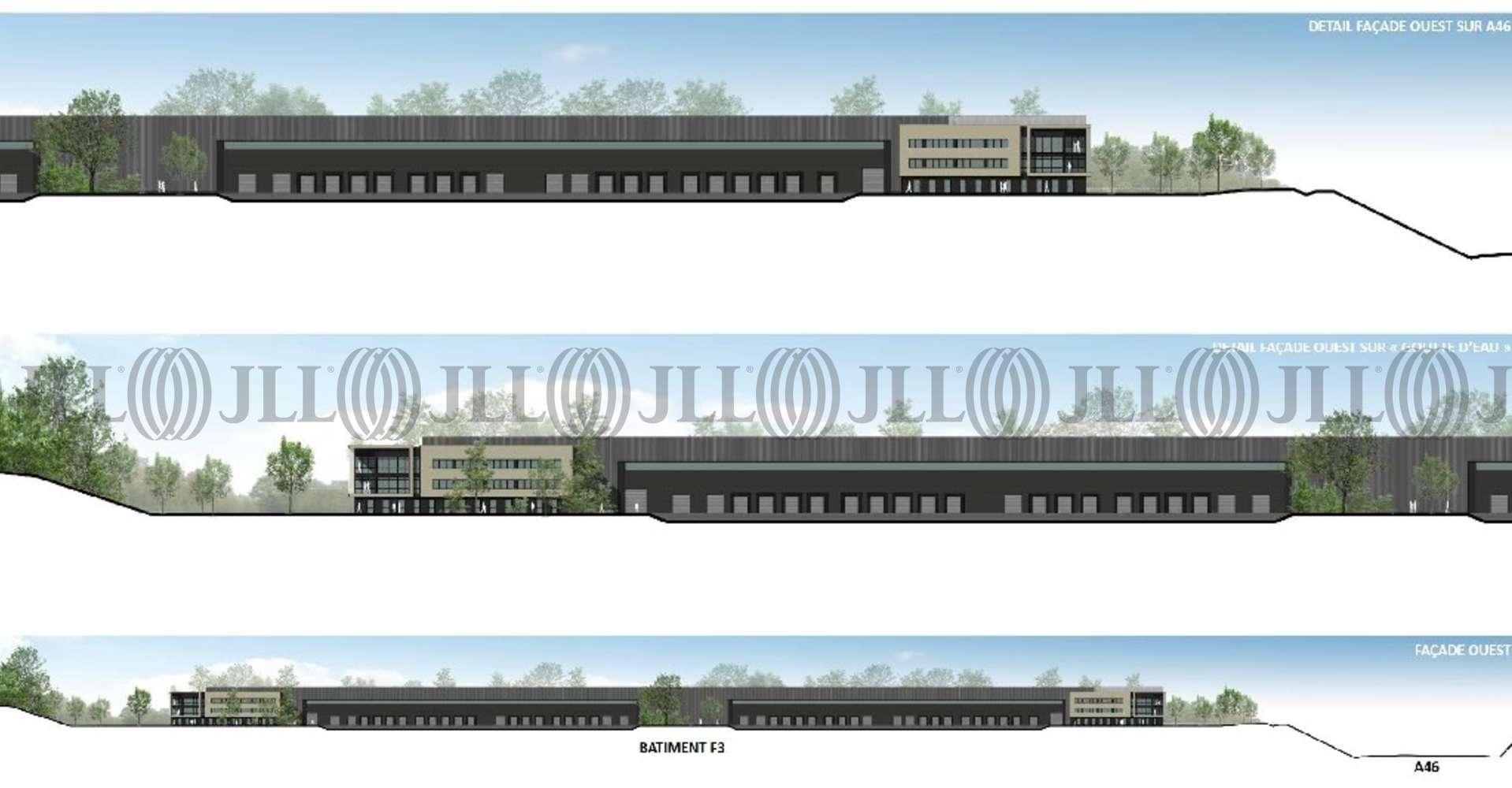 Plateformes logistiques Mionnay, 01390 - LOCATION ENTREPOT LYON NORD