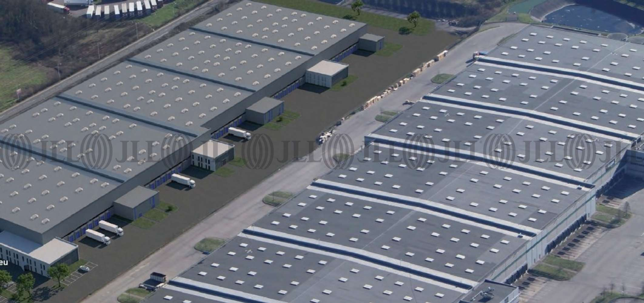 Plateformes logistiques Macon, 71000 - SENNECE LES MACON