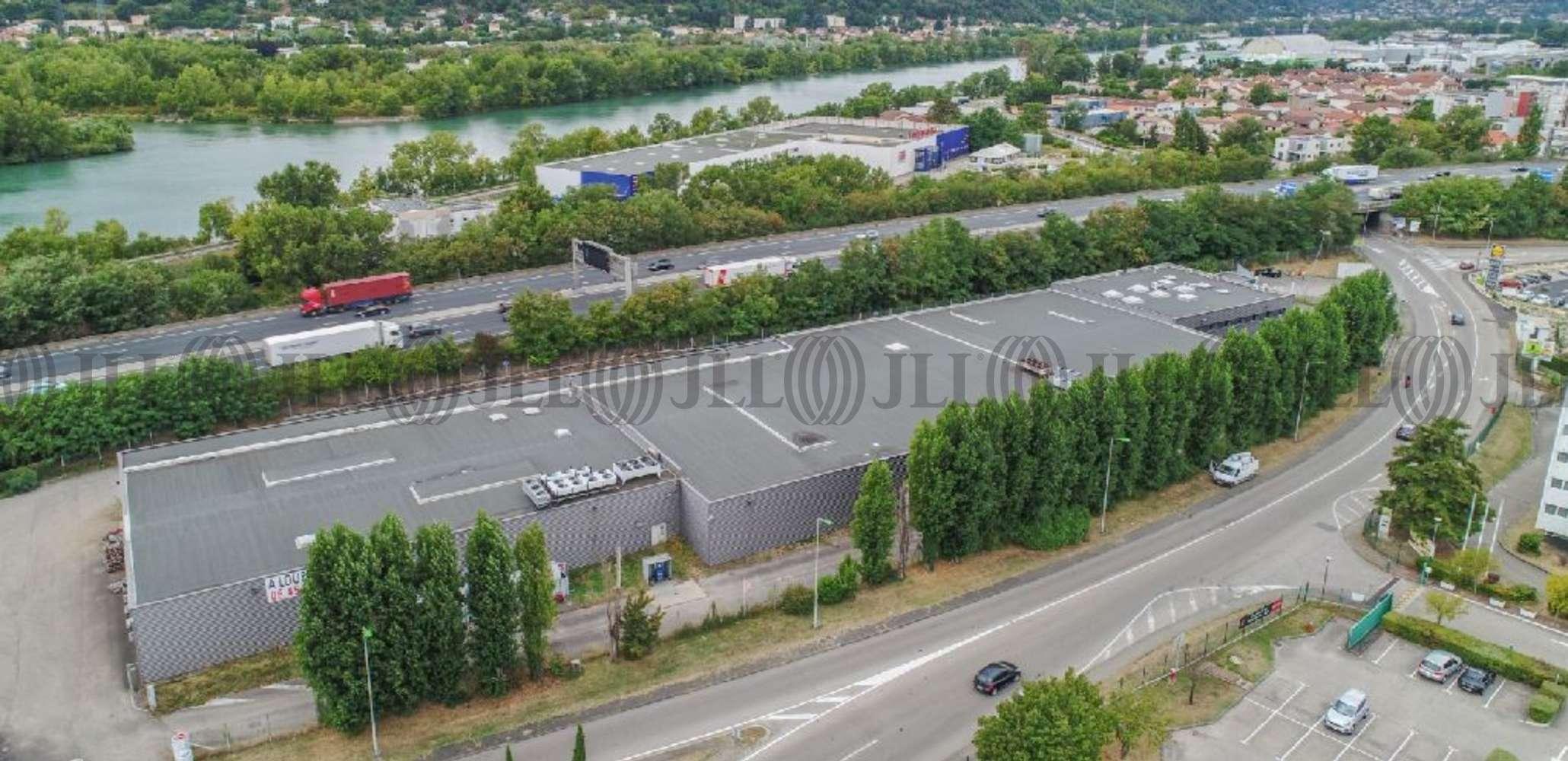 Plateformes logistiques Chasse sur rhone, 38670 - CHASSE SUR RHONE - FAÇADE A7