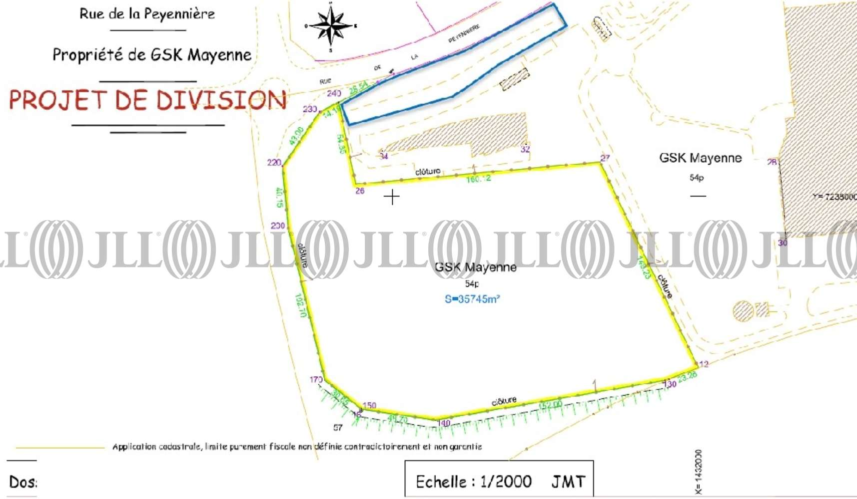 Activités/entrepôt Mayenne, 53100 - 660 RUE DE LA PEYENNIERE