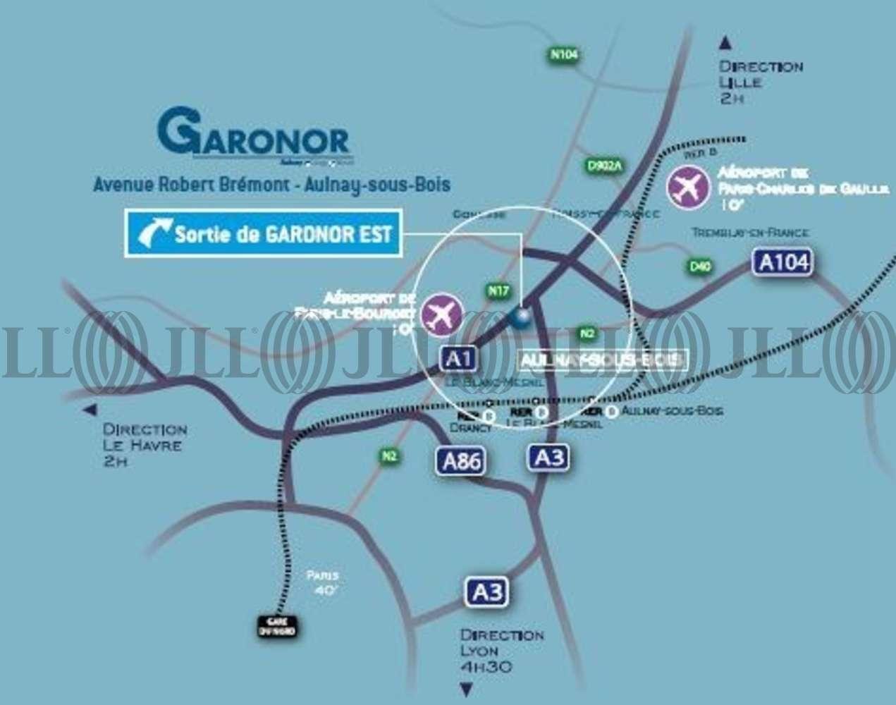 Activités/entrepôt Aulnay sous bois, 93600 - GARONOR EST - 9463833