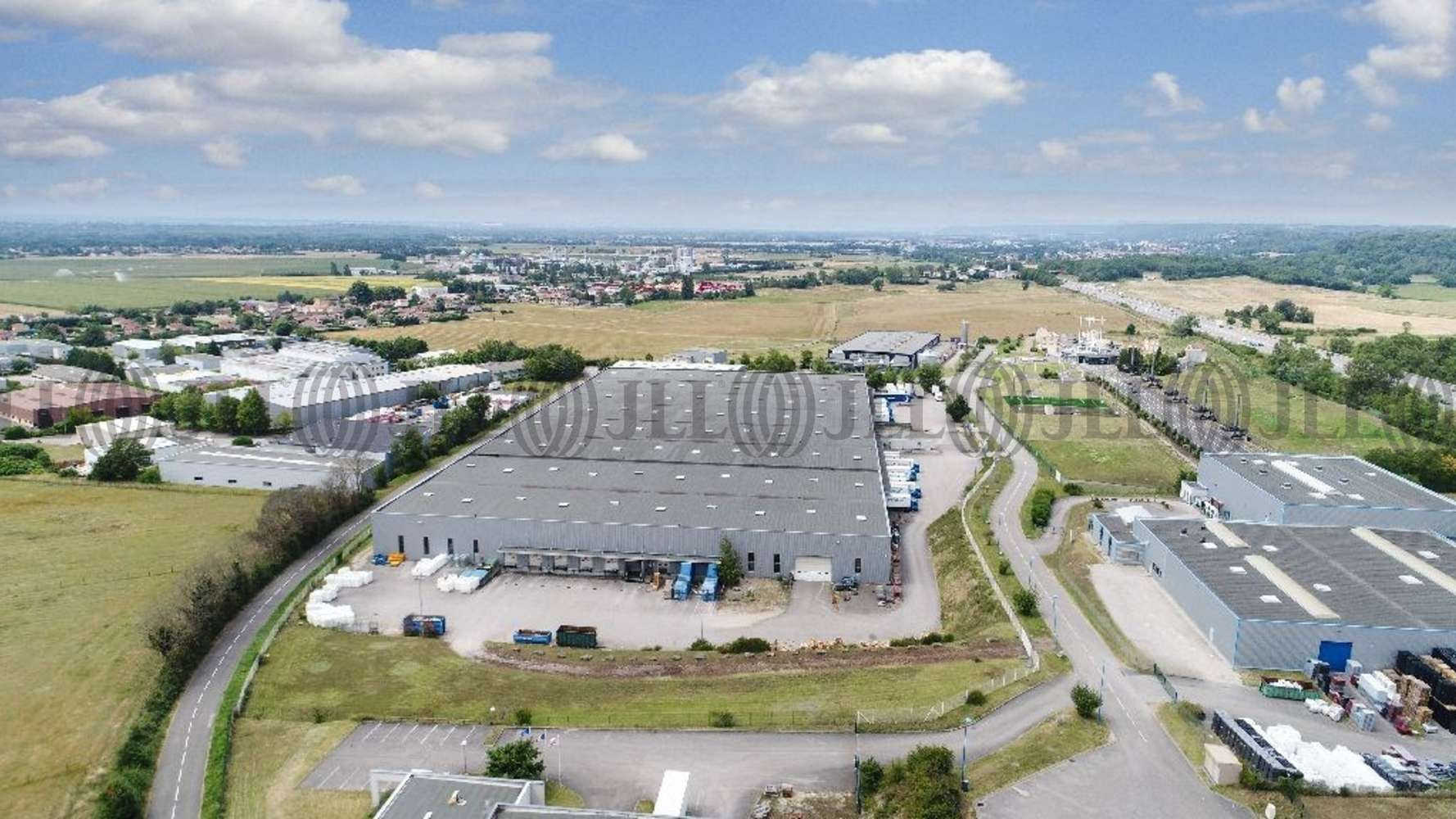 Plateformes logistiques Bressolles, 01360 - Entrepot à vendre Lyon Nord Est (Ain) - 9608848