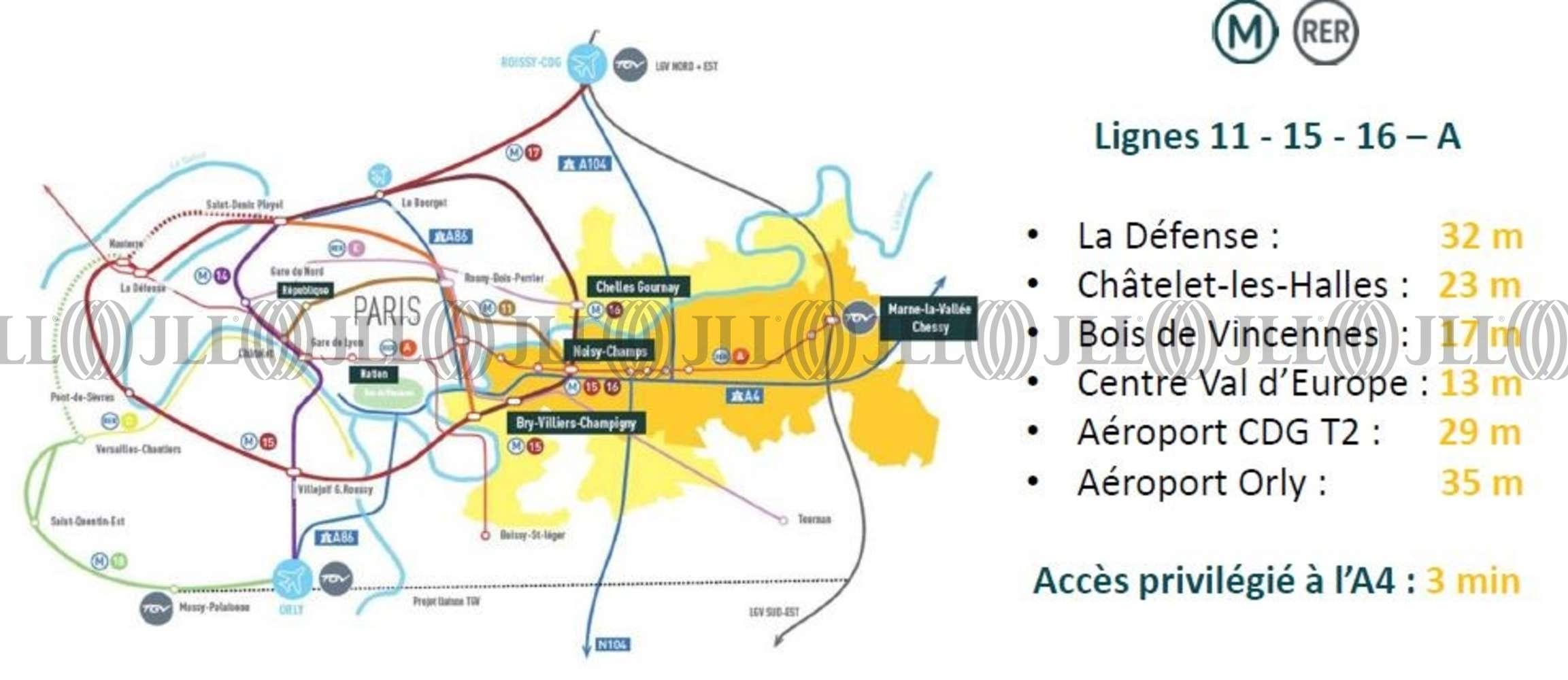 Bureaux Champs sur marne, 77420 -  BOULEVARD ARCHIMEDE - 9888036