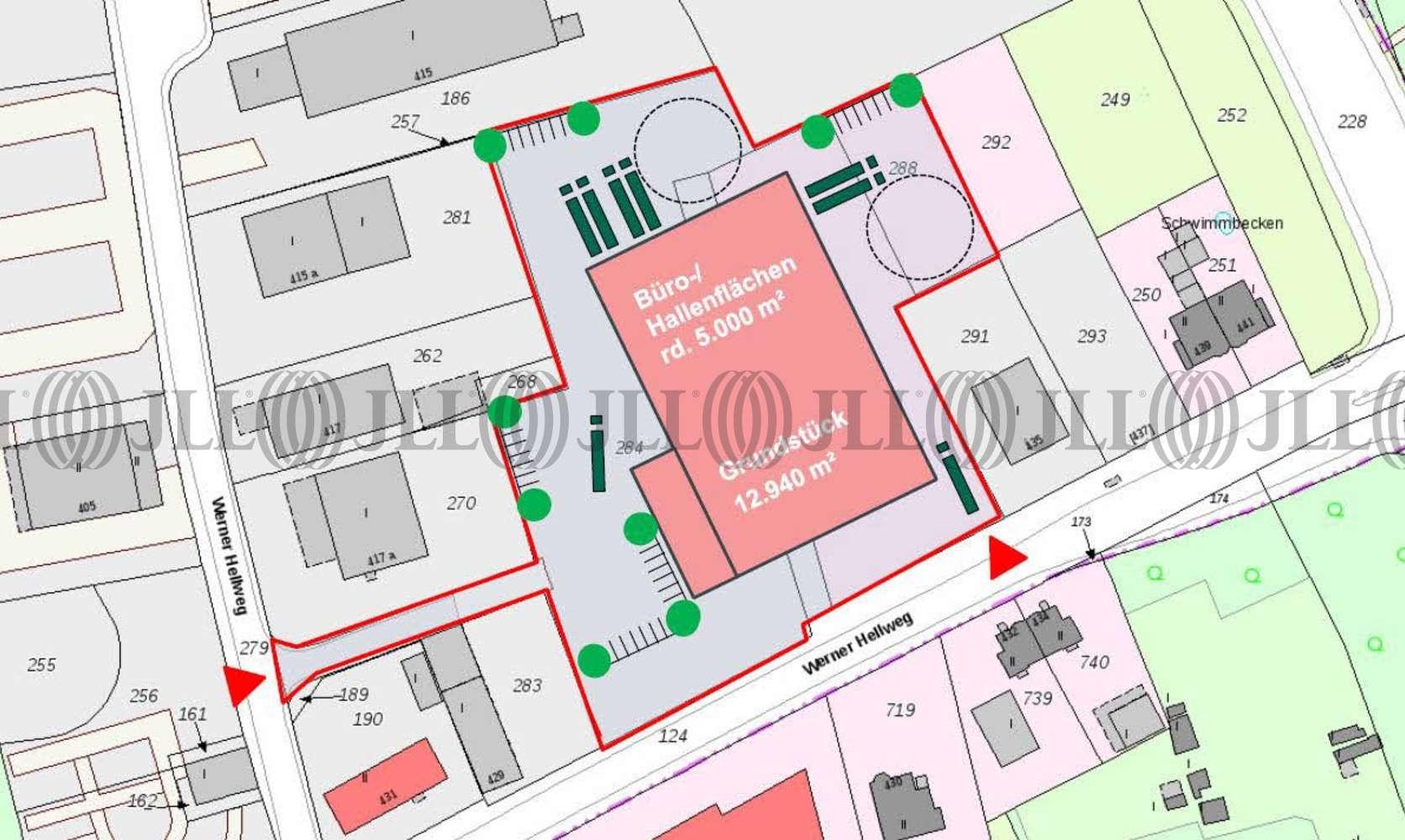 Hallen Bochum, 44894 - Halle - Bochum, Werne - D2510 - 9920215