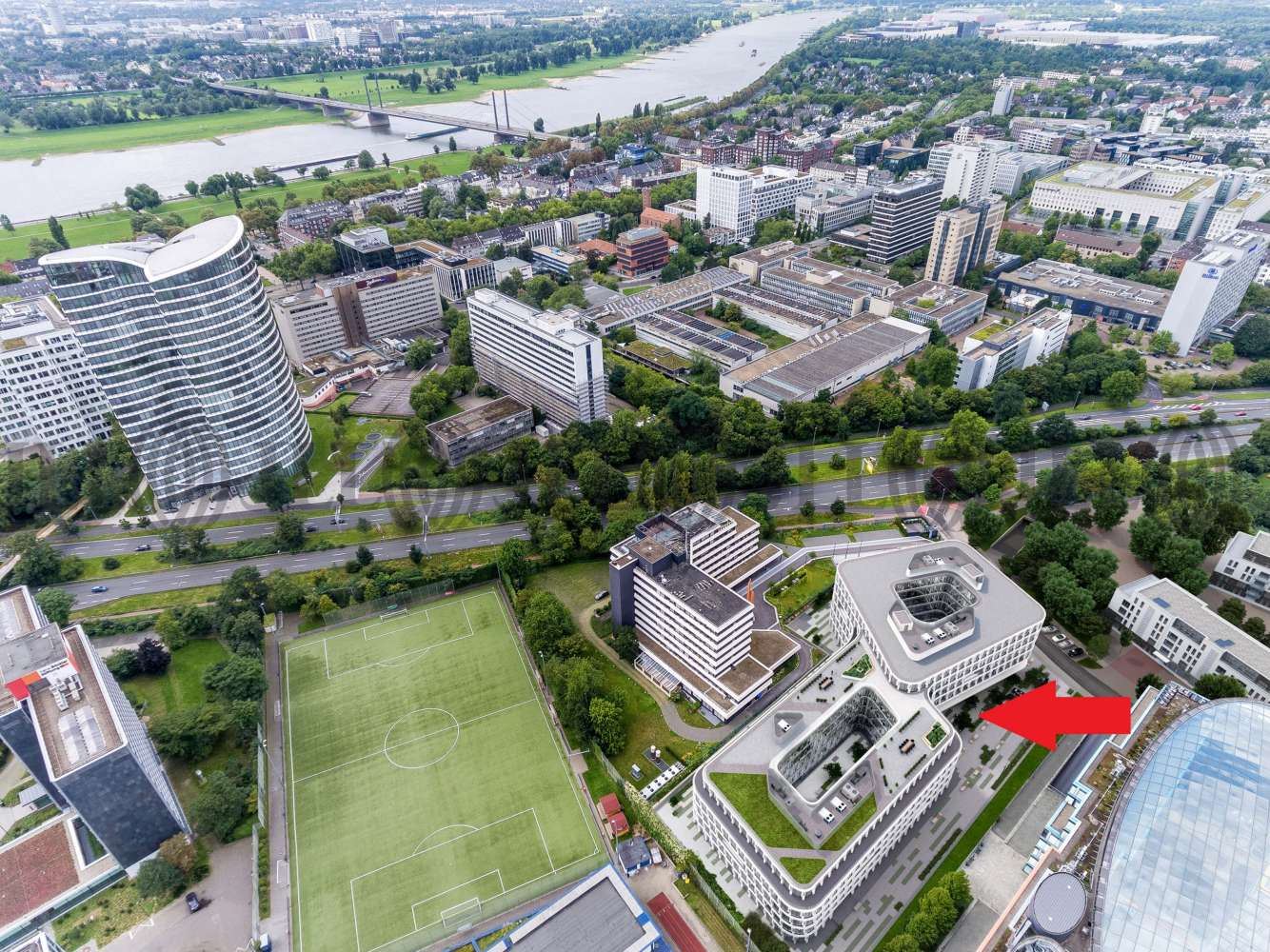 Büros Düsseldorf, 40476 - Büro - Düsseldorf, Golzheim - D1195 - 9988525