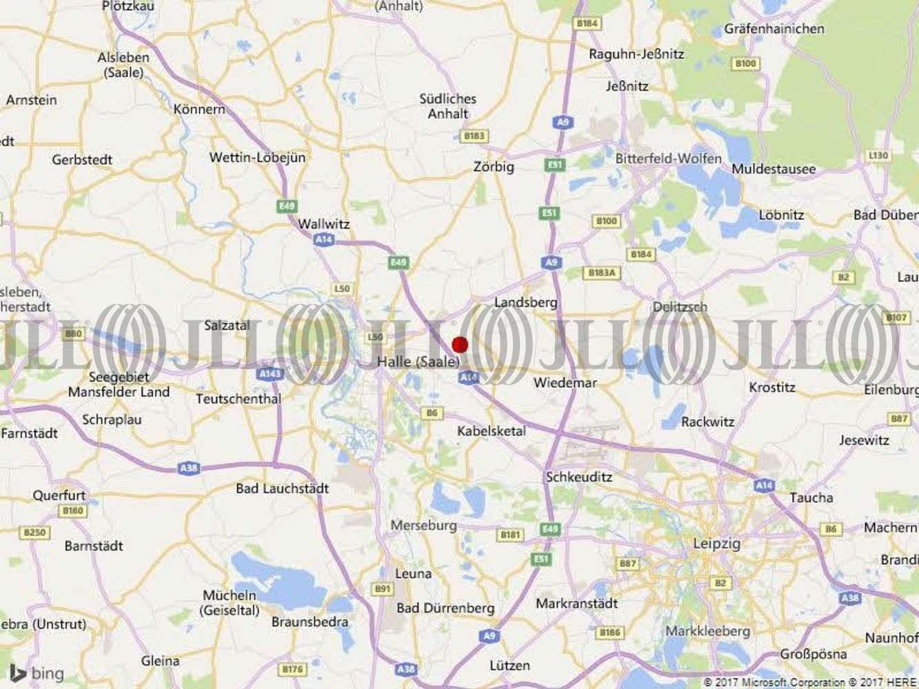 Hallen Halle (saale), 06116 -  Halle (Saale), Reideburg - B1282