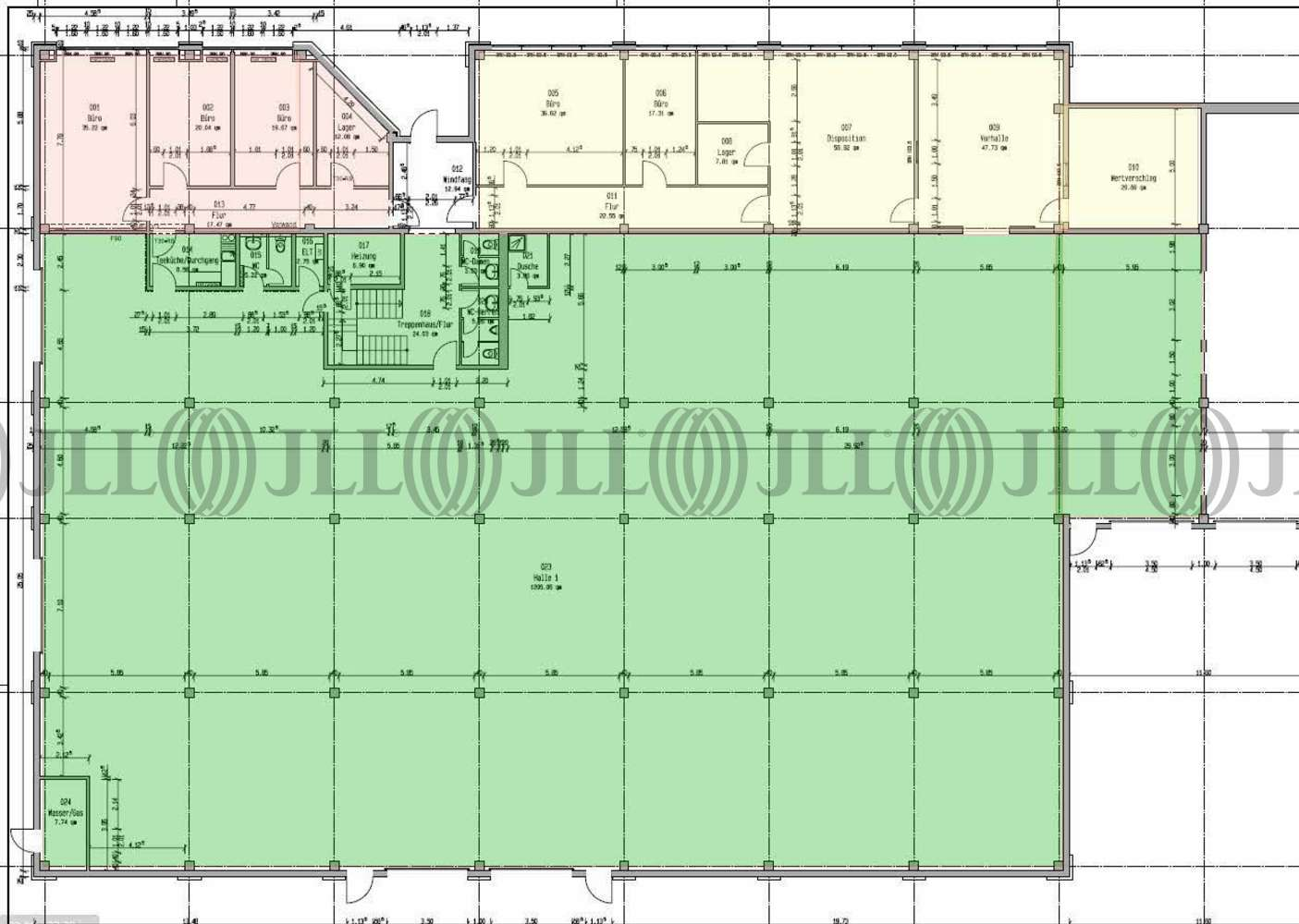 Hallen Leipzig, 04158 - Halle - Leipzig, Güterverkehrszentrum - B1340 - 10034552
