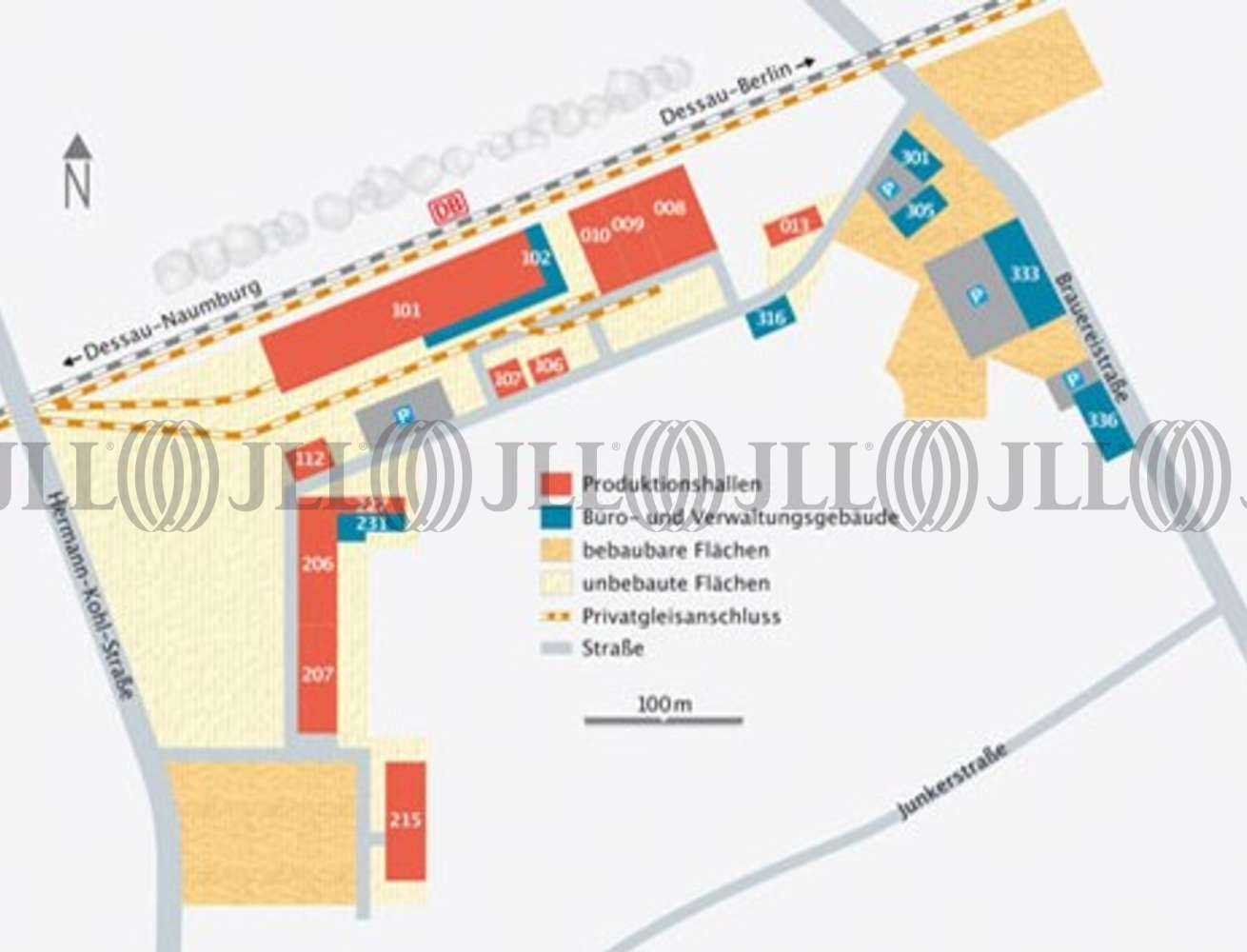 Hallen Dessau-roßlau, 06847 - Halle - Dessau-Roßlau, West - B0839 - 10321831