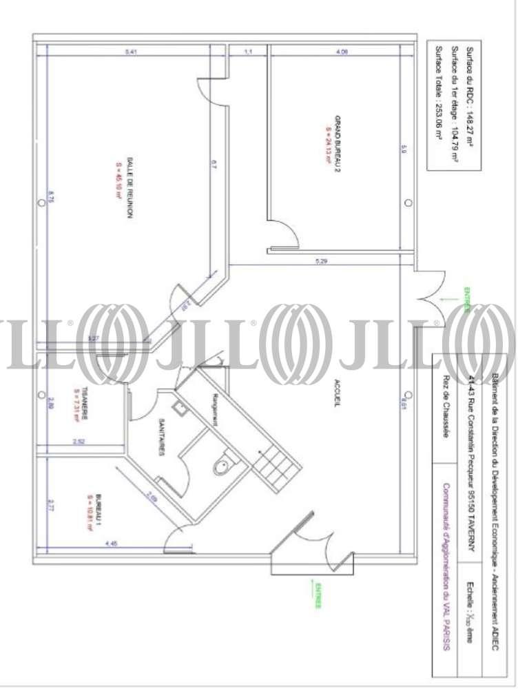 Bureaux Taverny, 95150 - 41 RUE CONSTANTIN PECQUEUR - 10487909
